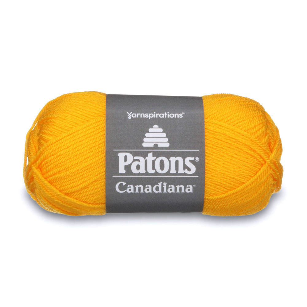 Patons Canadiana Tweet Yellow 10622 1 Yarn Patons The Wool Queen 057355334663