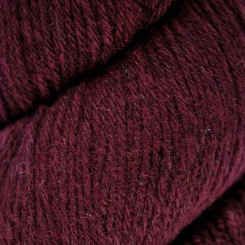 Tenderfoot Lambswool Merino 108 Bordeaux Red Yarn Euro Baby Yarn The Wool Queen 869270038016