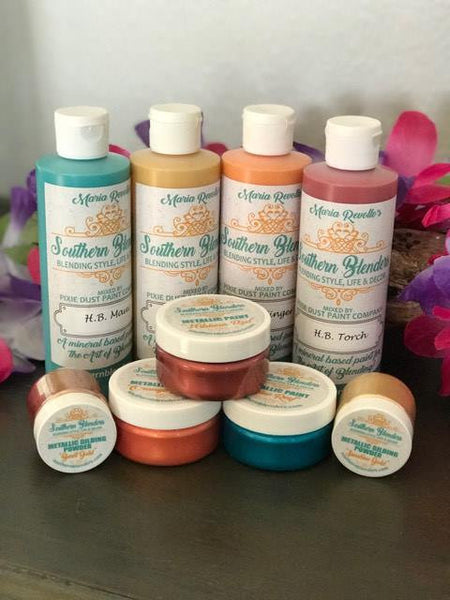 Southern Blenders Hawaiian Blending Mineral & Metallic Paint Kit