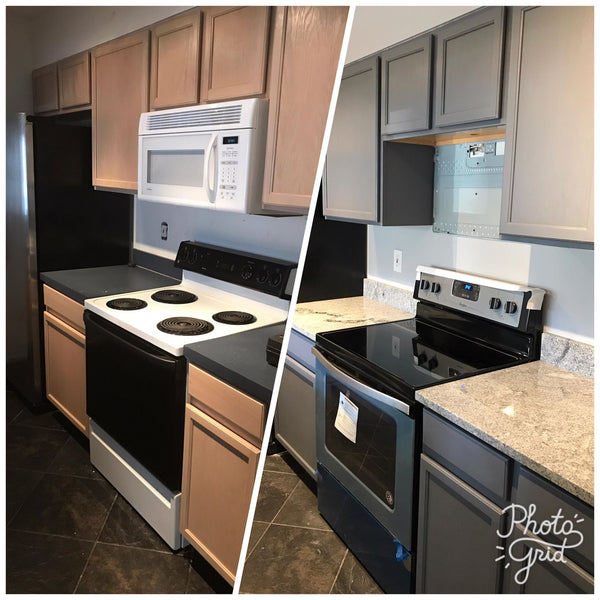 "Refinishing Kitchen Cabinets ""Home Decor Series"""