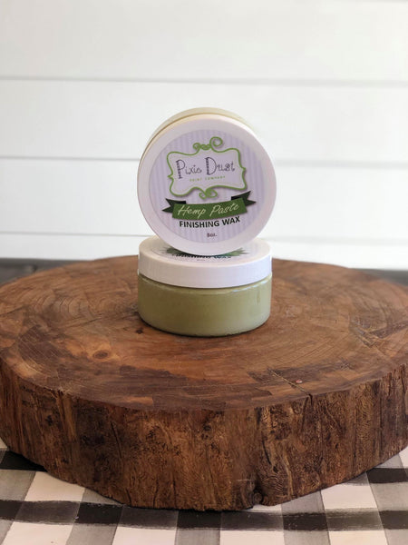 Hemp Paste Finishing Wax 8oz