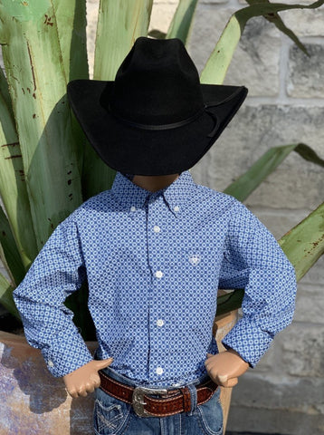 Ariat, Boy's Western Shirt