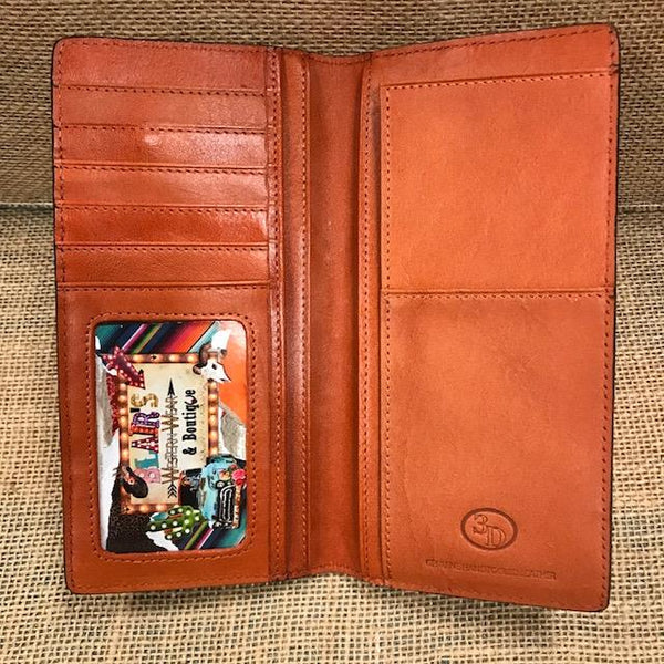 Men's Checkbook Wallet - W893