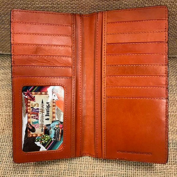Men's Checkbook Wallet - C744
