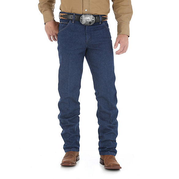 Men's Wrangler Premium Performance Regular Fit Blue Jean - 47MWZSW