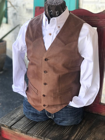 Men's Leather Vest - 503189