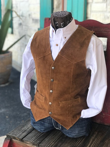 Men's Leather Vest - 507212