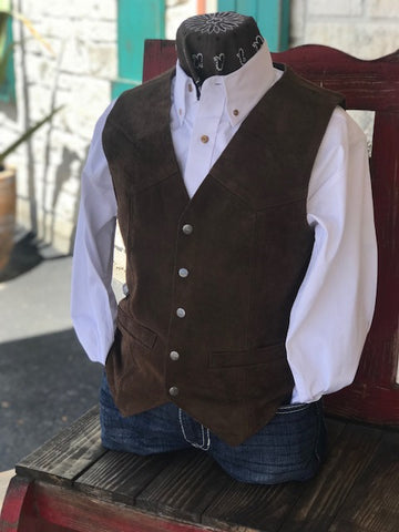 Men's Leather Vest - 507262