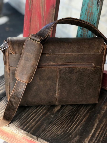 Scully, Leather Messenger Brief