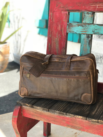 Scully, Men's Leather Duffel Bag