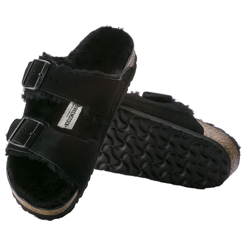 Birkenstock Arizona Fur Shearling Sandals 0752661 0752663