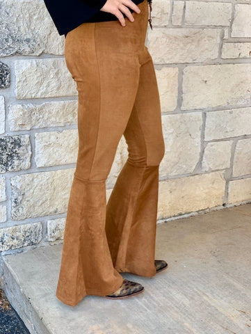 Panhandle Slim, Ladies Bell Bottoms. Side View