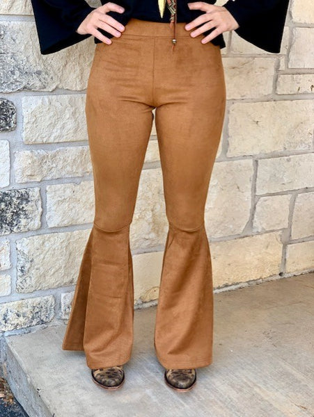 Panhandle Slim, Ladies Bell Bottoms. Front View