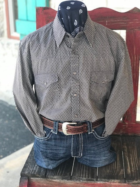 Rock & Roll Cowboy, Men's Western Shirt