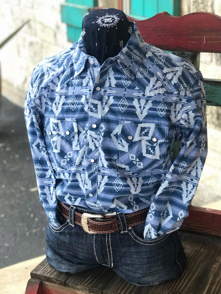 Men's Panhandle Slim Long Sleeve - B2S8004