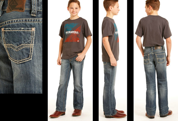 Boy's Rock and Roll Jean - BB4450