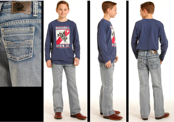 Boy's Rock and Roll Jean - BB4452