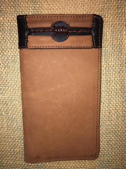 Men's Checkbook Wallet - E80214
