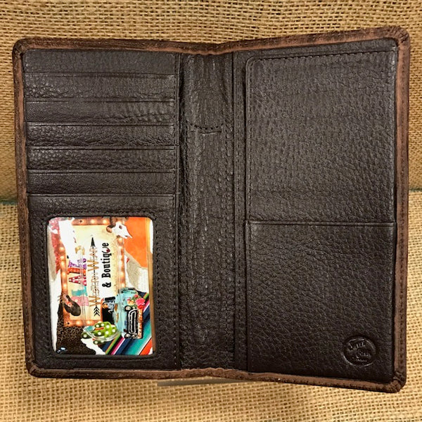 Men's Checkbook Wallet - E80598