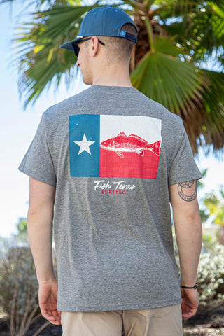 Texas Fish T-Shirt - Blair's Western Wear Marble Falls, TX