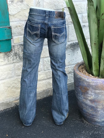 Rock and Roll Double Barrel Fit Straight Leg Jean - MOS1437