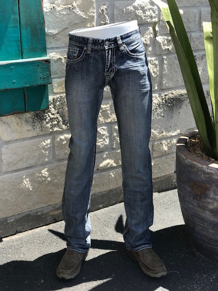 Rock and Roll Pistol Fit Straight Leg Jean - M1P5137
