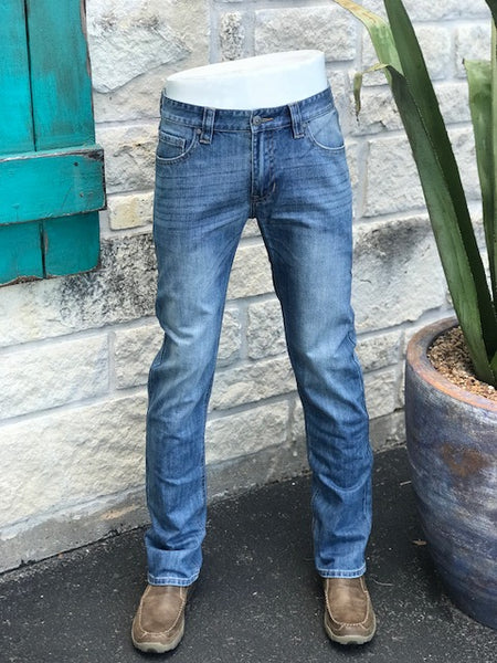 Rock and Roll Revolver Fit Straight Leg Jean - M1R5155