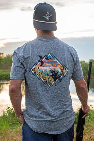 Grey Bird Dog T-Shirt - Blair's Western Wear Marble Falls, TX