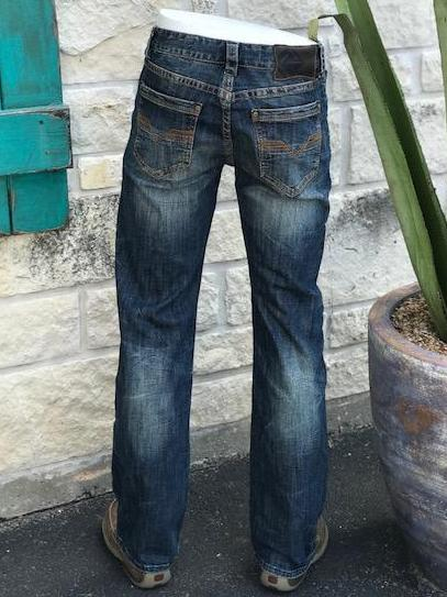 Rock and Roll Double Barrel Fit Straight Leg Jean - MOS6603