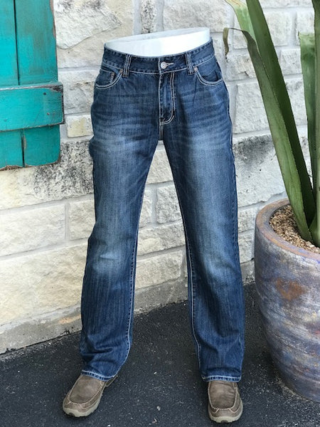 Rock and Roll Double Barrel Fit Straight Leg Jean - MOS8553