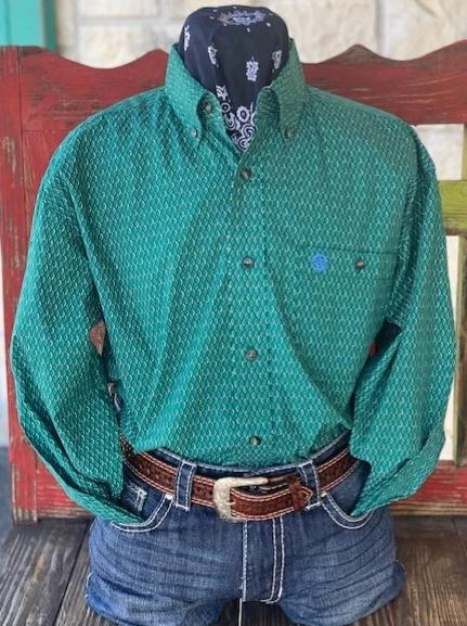 Wrangler, George Straight Collection, Men's Western Shirt-MGSG701