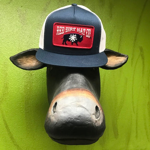 Red Dirt Hat Co logo w/ Texas Buffalo patch cap