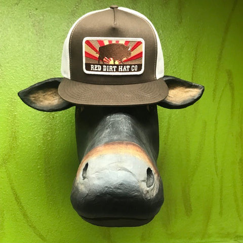 Red Dirt Hat Co western buffalo logo cap