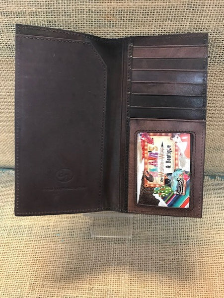 Men's Checkbook Wallet - DW1054