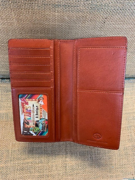 Men's Checkbook Wallet - DW905