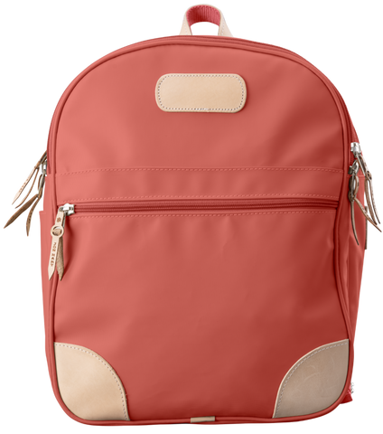 Coral Medium Canvas Jon Hart Backpack - Blair's Western Wear Marble Falls, TX