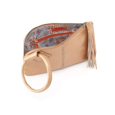 Hobo Wristlet Sable - VI35036GLDST