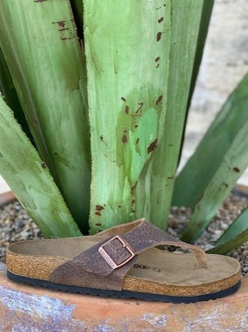 Birkenstock Brown Thong - Blair's Western Wear Marble Falls, Texas