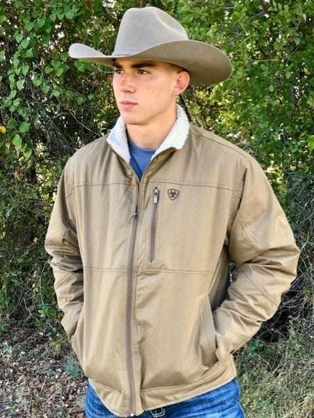 Men's Ariat Insulated Fleece Collar Conceal Carry Jacket - 10028399
