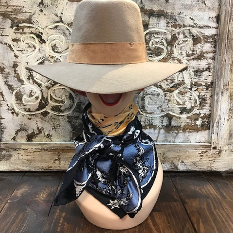 Wild West Cowboy Wild Rags Wyoming Traders Western Scene - LCT
