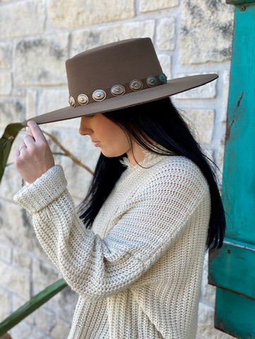 Brown Felt Hat - Blair's Western Wear Marble Falls, TX