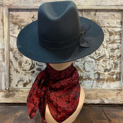 Wine Red Scarf - Blair's Western WEar Marble Falls, TX
