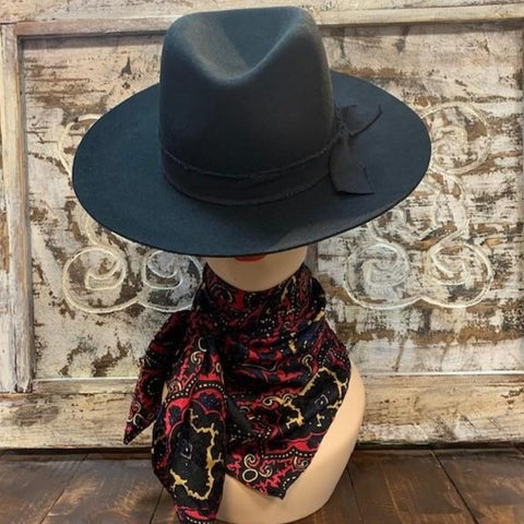 Black & Red Scarf - Blair's Western Wear Marble Falls, TX