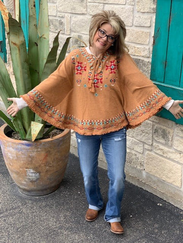 Ladies Poncho - 16366