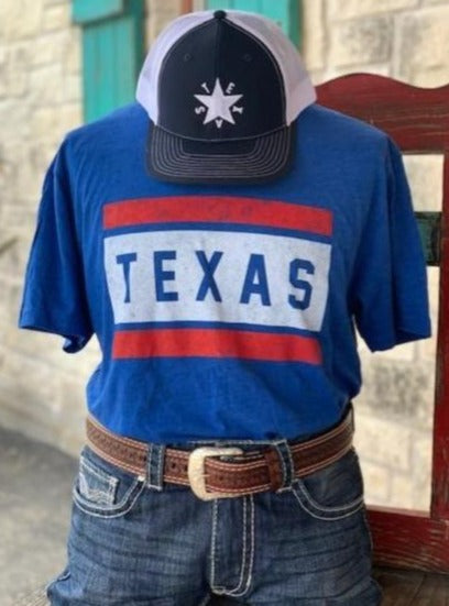 Blue TX shirt - Blair's Western Wear Marble Falls, TX