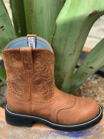 Ladies Ariat Brown Fat baby cowgirl boot - 10000860