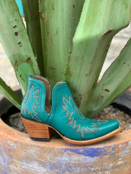 Ladies Ariat Dixon Turquoise Booties - 10027280