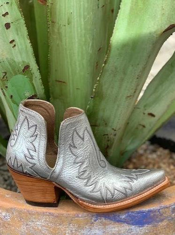 Ladies Ariat Dixon Silver Booties - 10029652