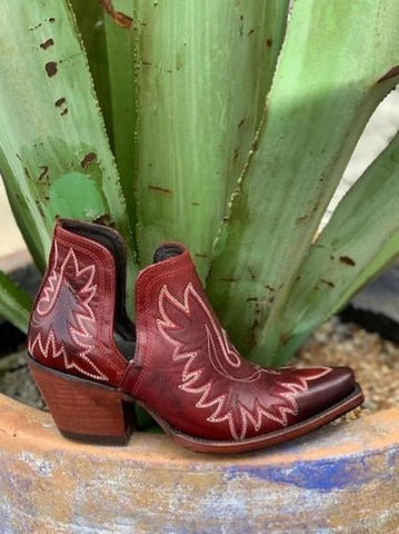 Ladies Ariat Dixon Brick Red Bootie - 10027285