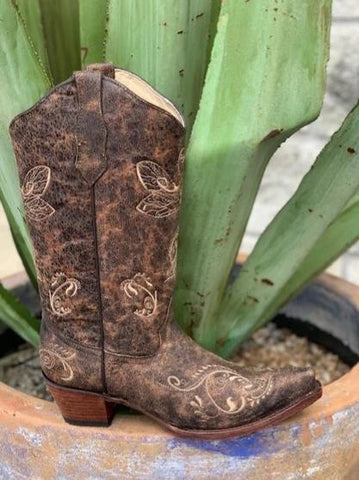 Ladies Circle G Cowgirl Western Boots - L5001